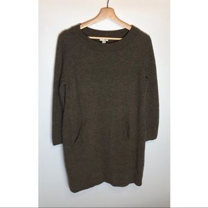 Womens J.Jill Wool Sweater Dress Size Medium